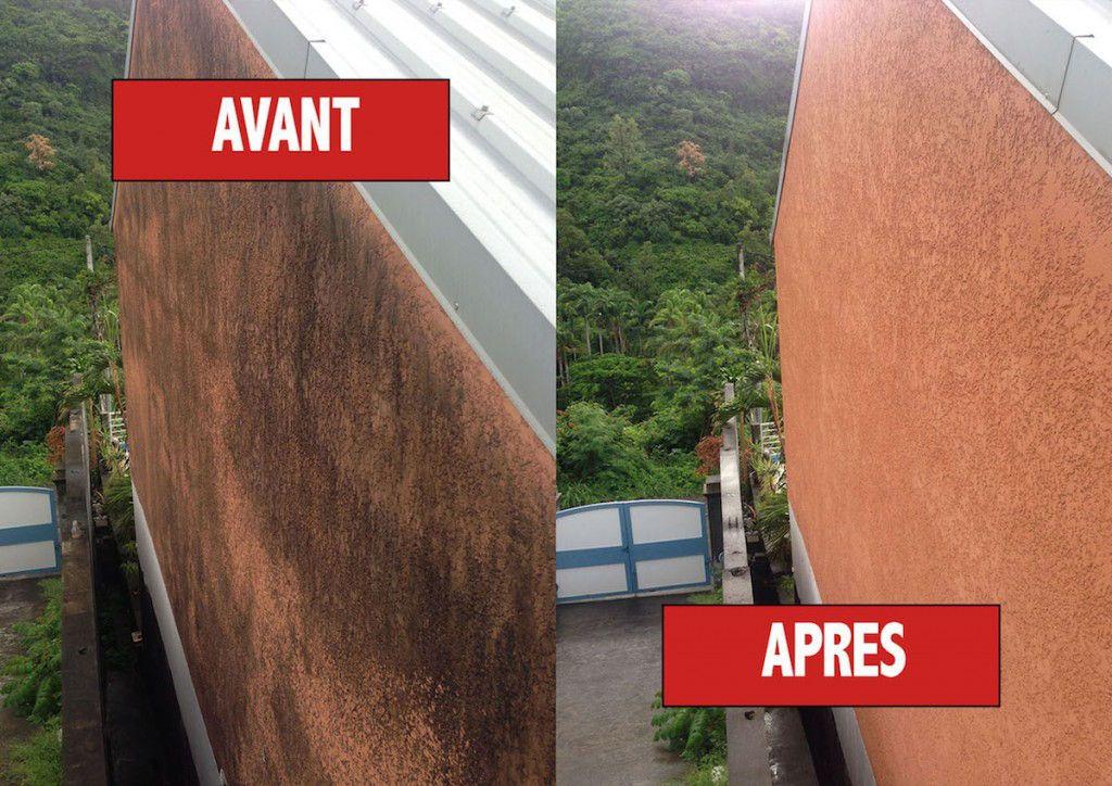 Avant et après le passage AR Peinture à Pornichet