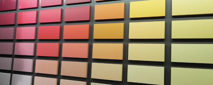 Choix des couleurs de AR Peinture d'intérieure