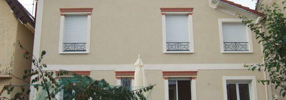 Nettoyage de façade d'une maison à La Baule