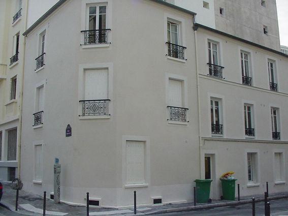 Revetement de façade d'un bâtiment à Pornichet