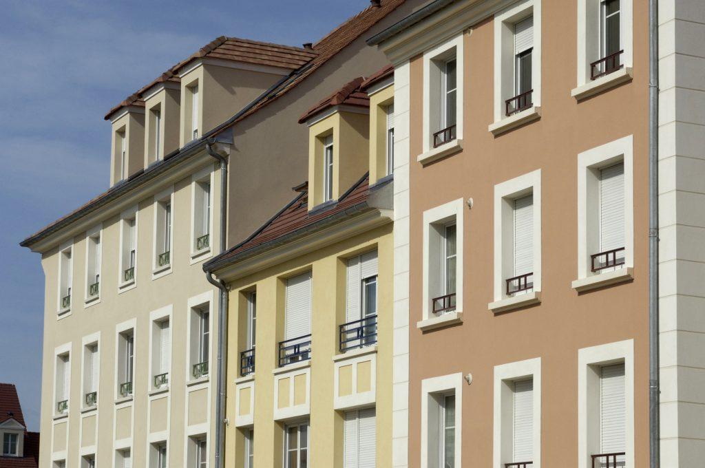 Ravalement de façade à Nantes, réalisé par l'entreprise AR-Peinture