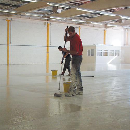 peinture sur sol à st nazaire en loire atlantique, travaux réalisé par ar-peinture