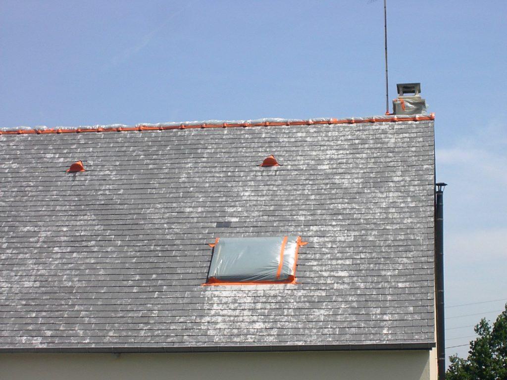 peinture sur toiture à guerande en loire atlantique, travaux réalisé par ar-peinture