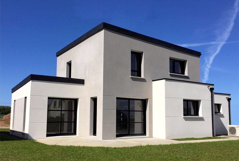 Enduit projeté à La Baule en Loire Atlantique (44) réalisé par AR Enduit